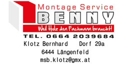 Montage Service Benny